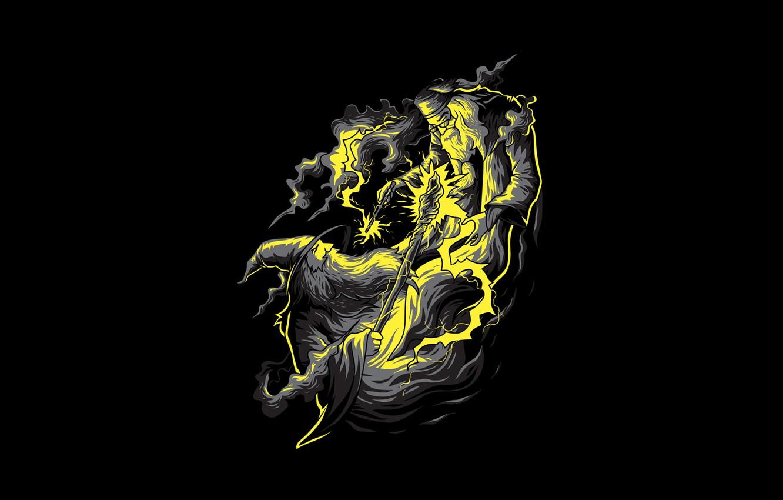 Wallpaper Angga Tantama Gandalf Magic Art The Lord Of The