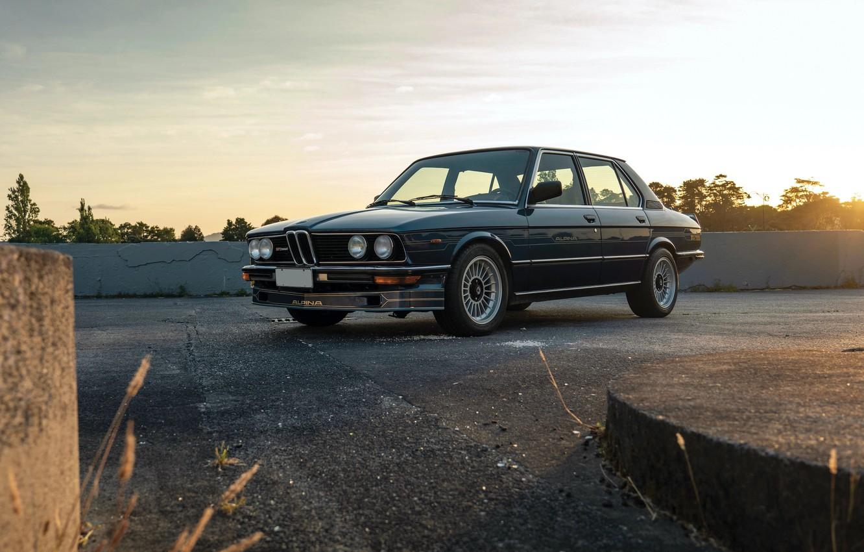 Photo wallpaper BMW, ALPINA, E12, TURBO S, B7