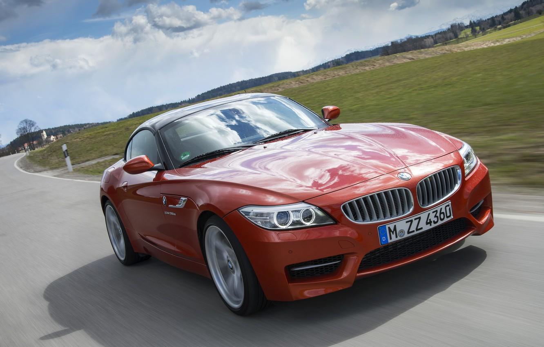 Photo wallpaper movement, the hood, BMW, Roadster, 2013, E89, BMW Z4, Z4, sDrive35is