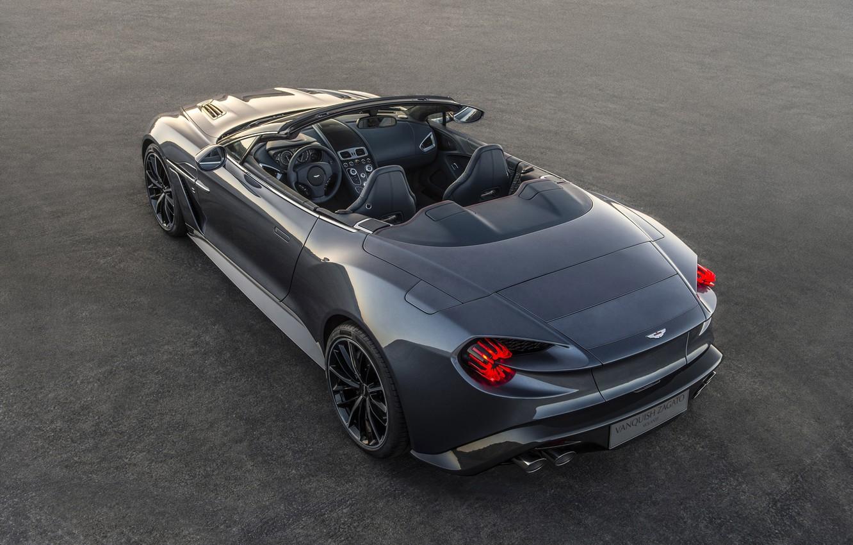 Photo wallpaper Aston Martin, Zagato, Vanquish, Volante, 2017