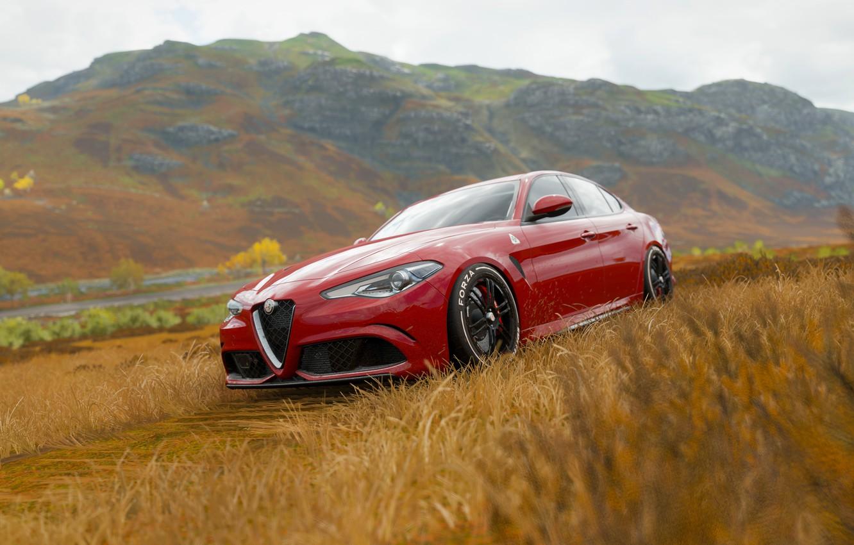 Wallpaper Alfa Romeo Cars Forza Forza Horizon Forza Horizon 4 Alfa Romeo Giulia Images For Desktop Section Igry Download