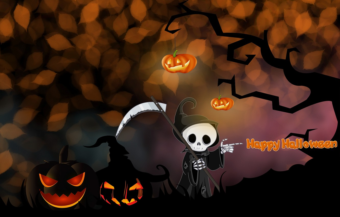 Photo wallpaper background, Halloween, picture