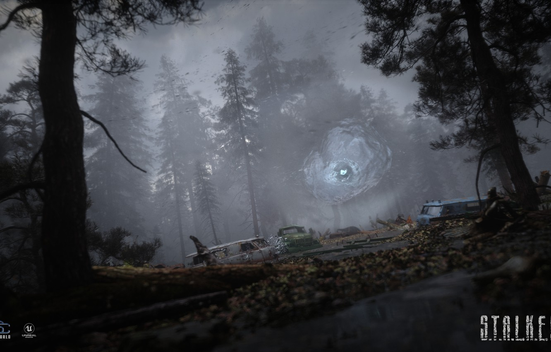 Photo wallpaper dump, Stalker, area, S.T.A.L.K.E.R, Stalker 2, black forest