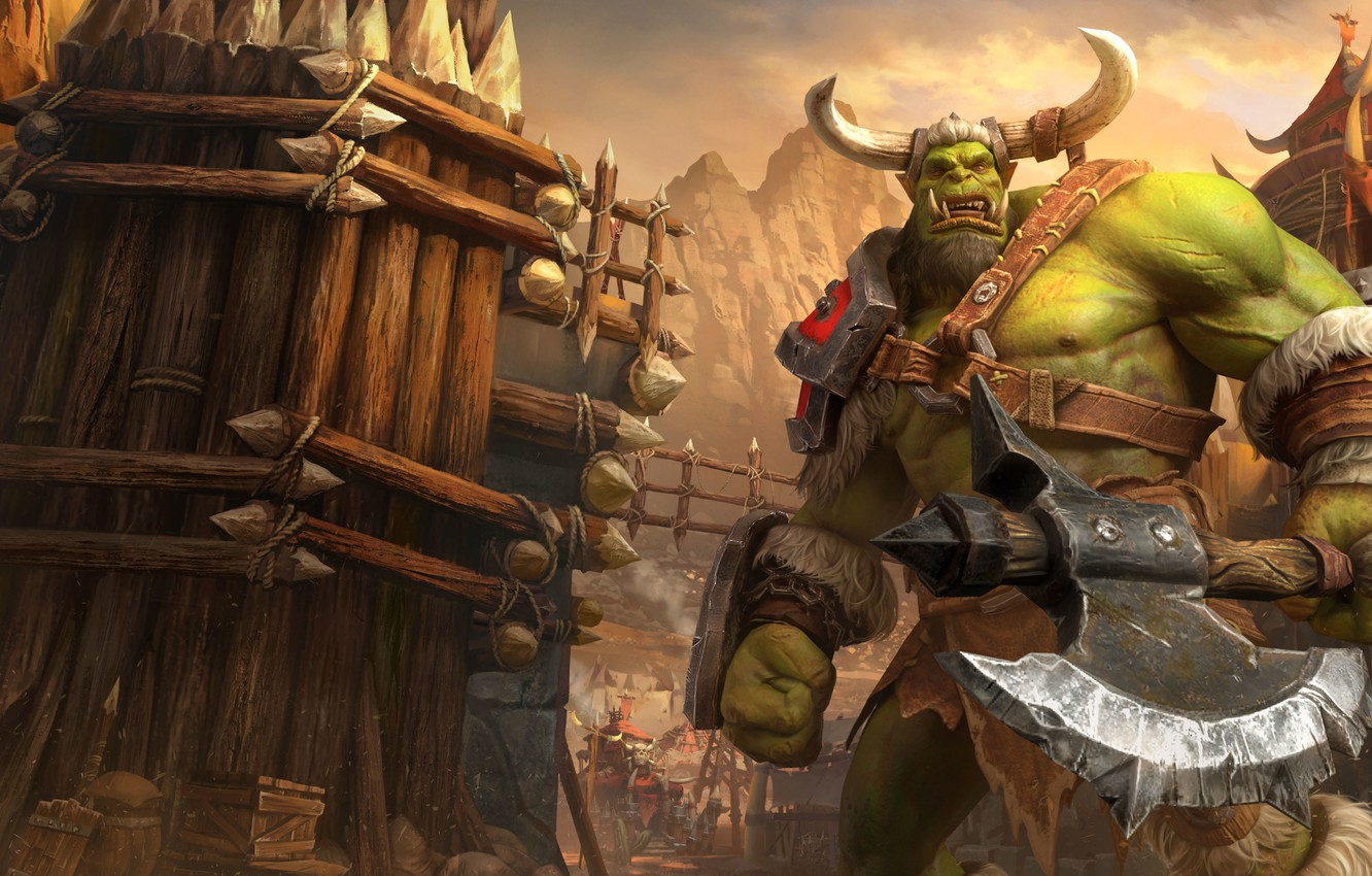 Wallpaper Axe Orc Warcraft Iii Warcraft Iii Reforged Images