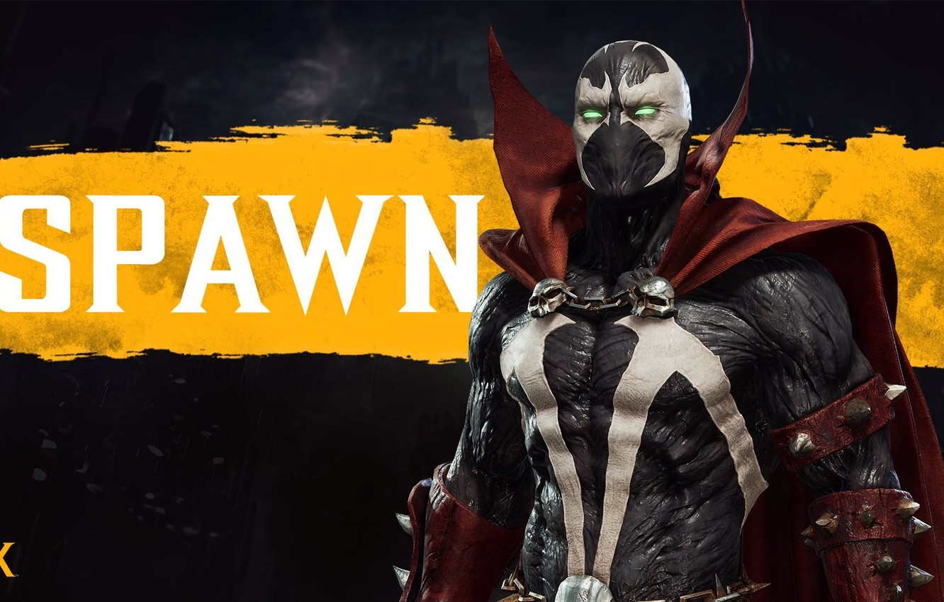 Wallpaper Promo Dlc Mk11 Spawn Netherrealm Studios 2020