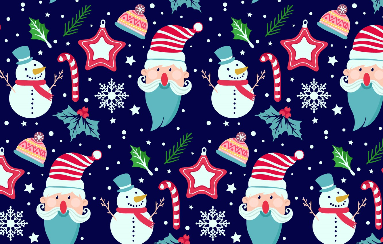 Photo wallpaper winter, blue, background, holiday, texture, Winter, pattern
