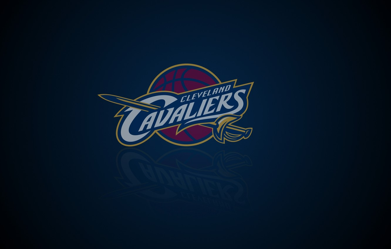 Photo wallpaper Logo, NBA, Basketball, Sport, Cleveland Cavaliers, Emblem, American Club