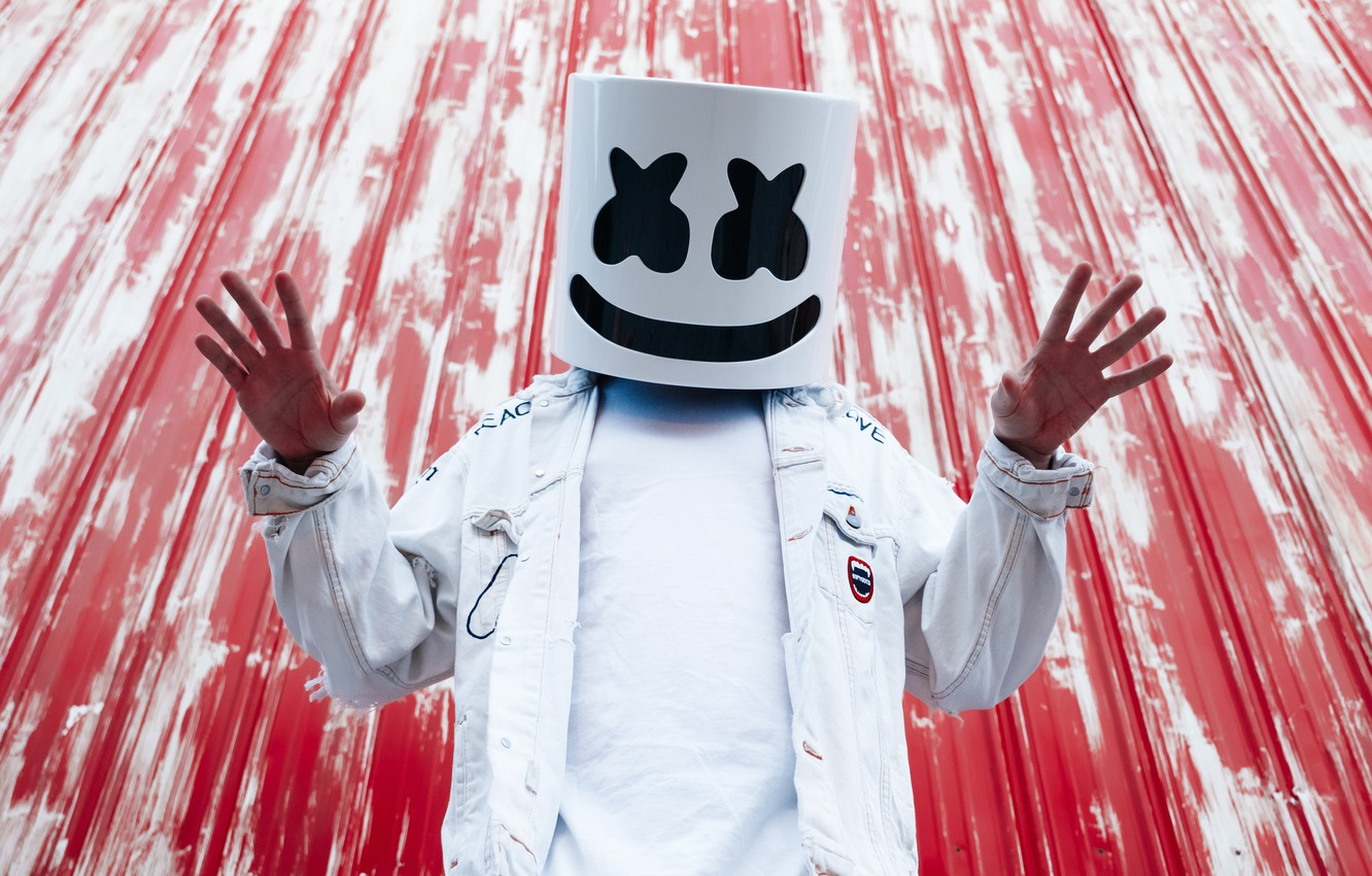 Wallpaper Dj Edm Marshmello Dj Images For Desktop Section Muzyka