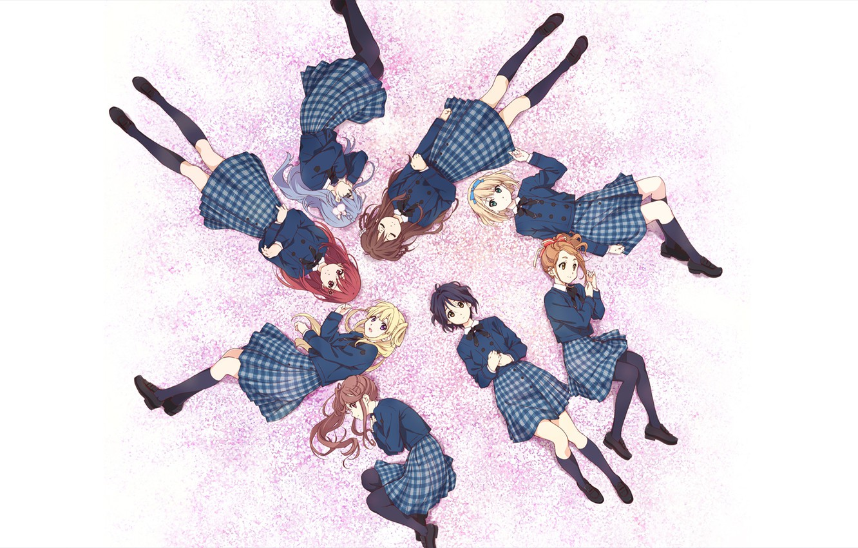 Photo wallpaper girls, School Uniform, Miyako Kono, 22/7, Sakura Fujima, Akane Maruyama, Jun Toda, Reika Sato, Ayaka …