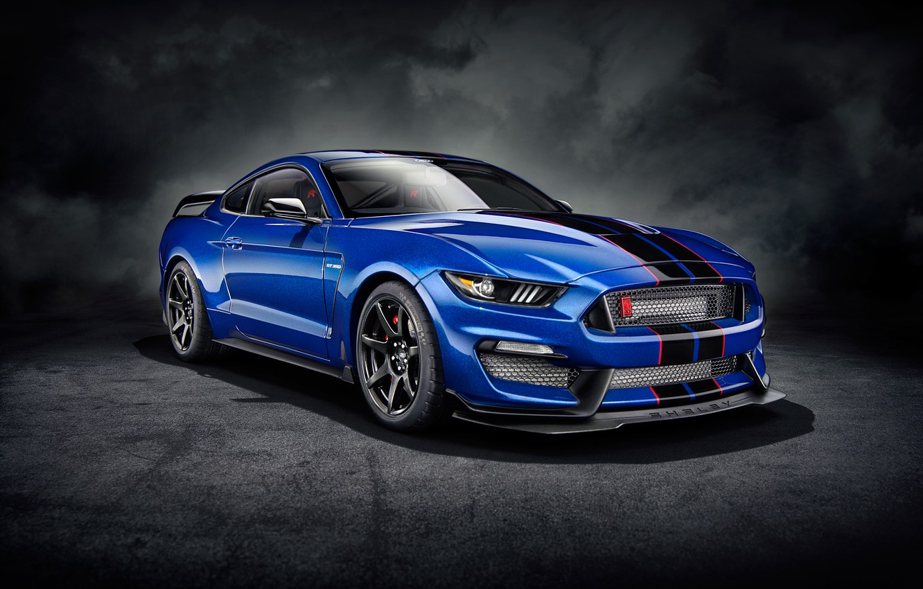 Photo wallpaper background, art, Ford Mustang, muscle car, Shelby Mustang, Ford Mustang Shelby GT350R