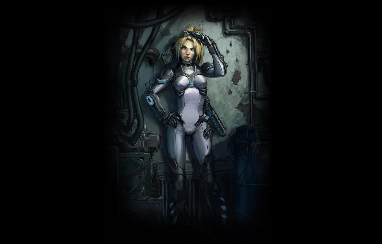 Photo wallpaper Girl, Ghost, Terra, Blizzard, Terran, Nova, StarCraft, Characters, Nova Terra, Star Craft, Agent X41822N