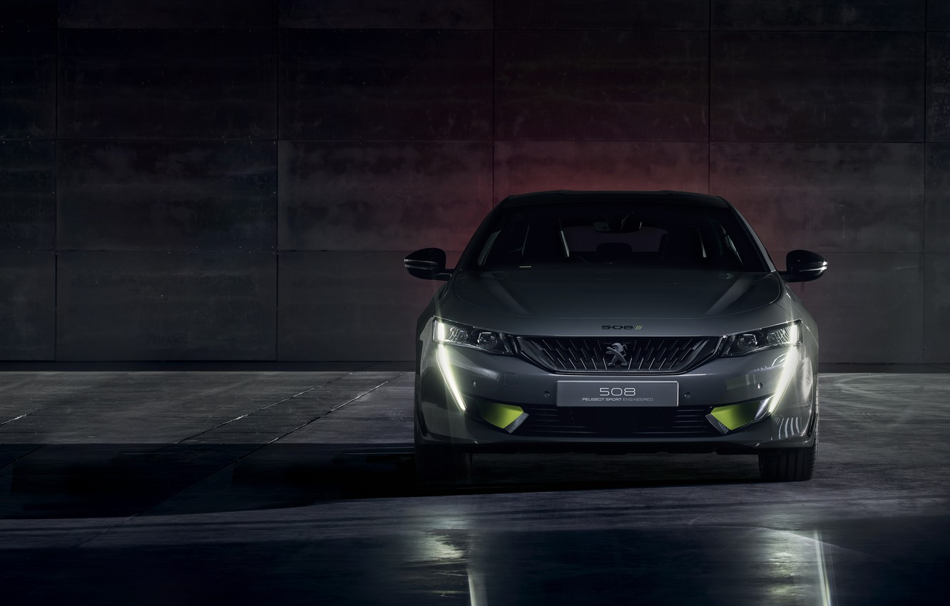 Photo wallpaper Concept, Peugeot, front view, 508, 2019, Sport Engineered