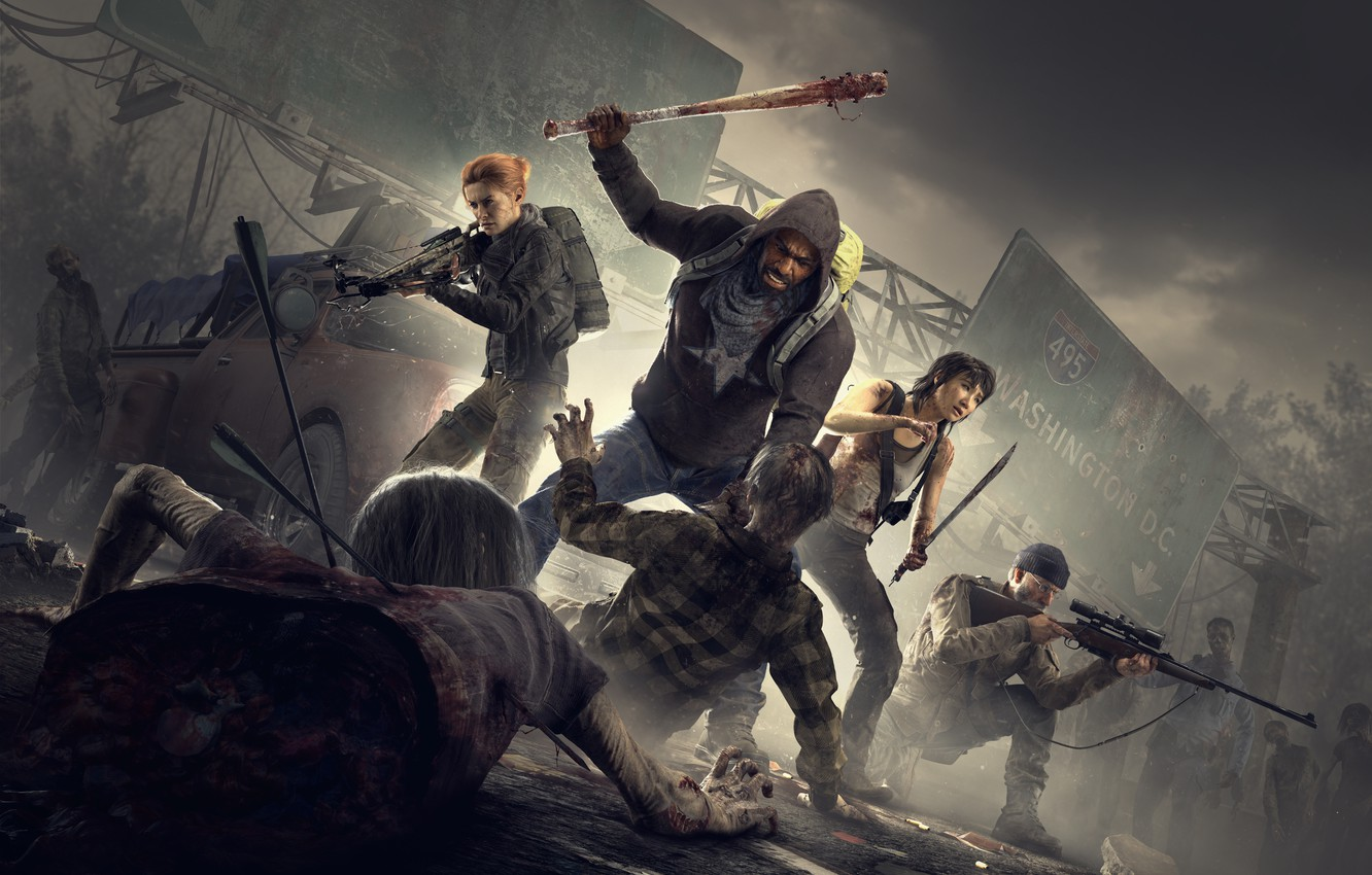 Wallpaper Overkill Software 505 Games Overkill S The Walking
