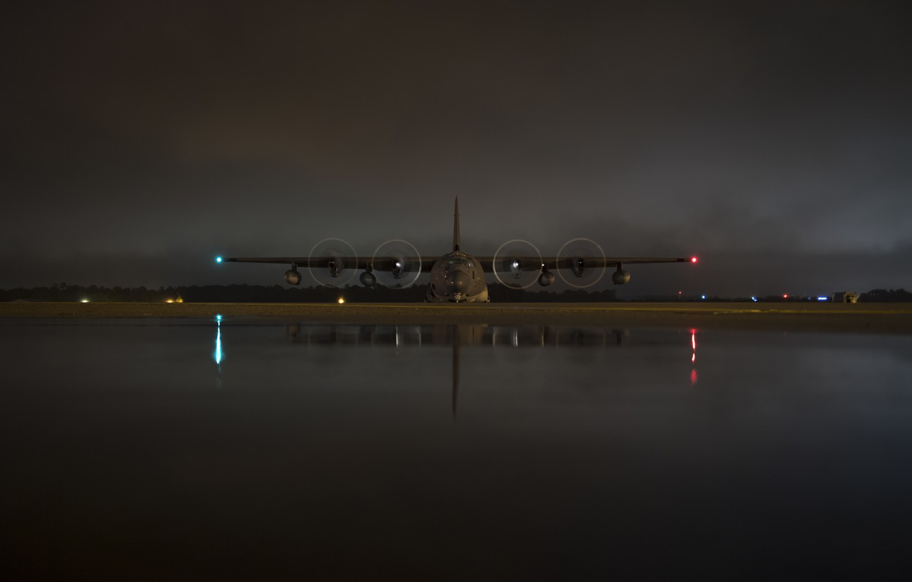 Wallpaper The Plane Usaf C 130 Hercules C 130 Military