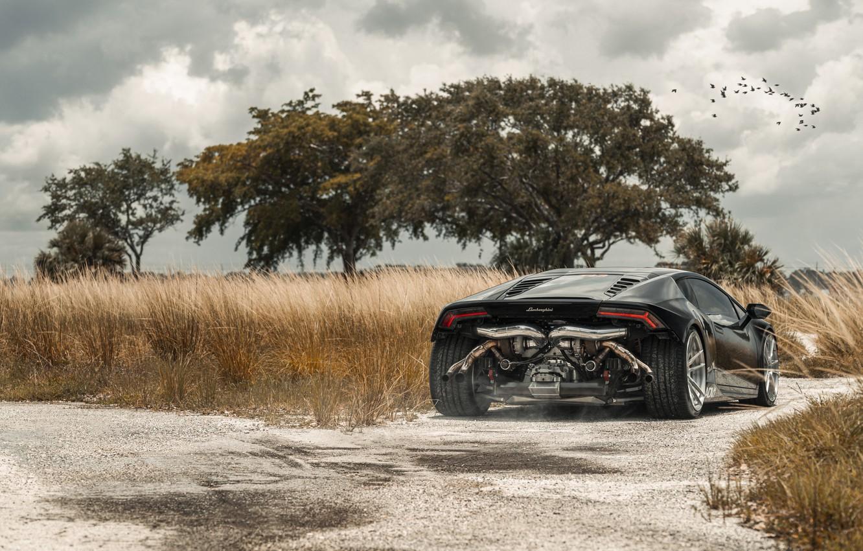 Photo wallpaper Lamborghini, Tuning, Supercar, Rear, Huracan, Adv.1