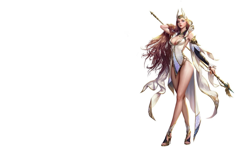 Photo wallpaper the game, fantasy, art, character, Elementalist, costume design, jungmin jin /dospi