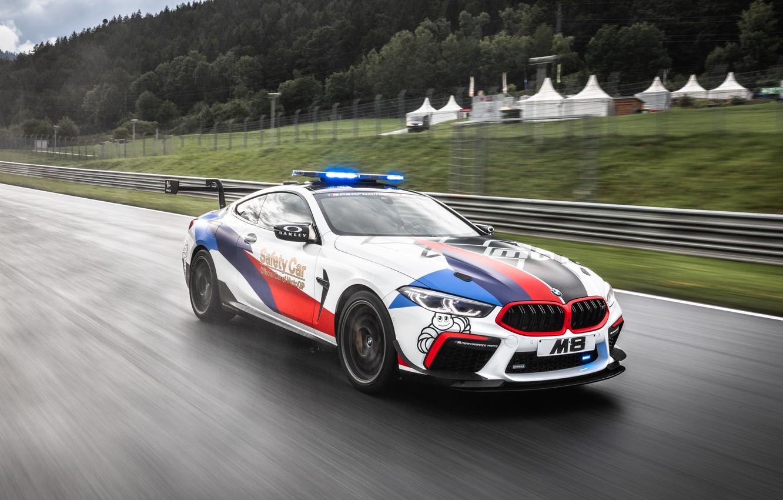 Photo wallpaper MotoGP, Safety Car, BMW M8, F92