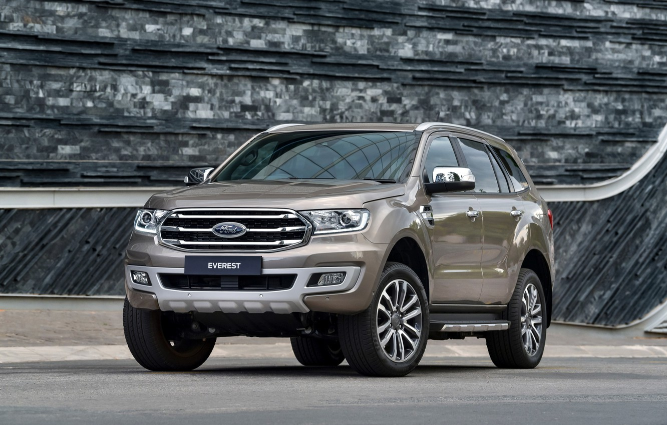 Photo wallpaper Ford, Everest, Limited, 4WD, midsize, 2019