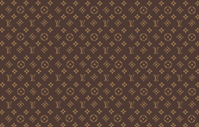 Photo wallpaper patterns, brown, brown, patterns, Louis Vuitton, fon, louis vuitton, Louis Vuitton