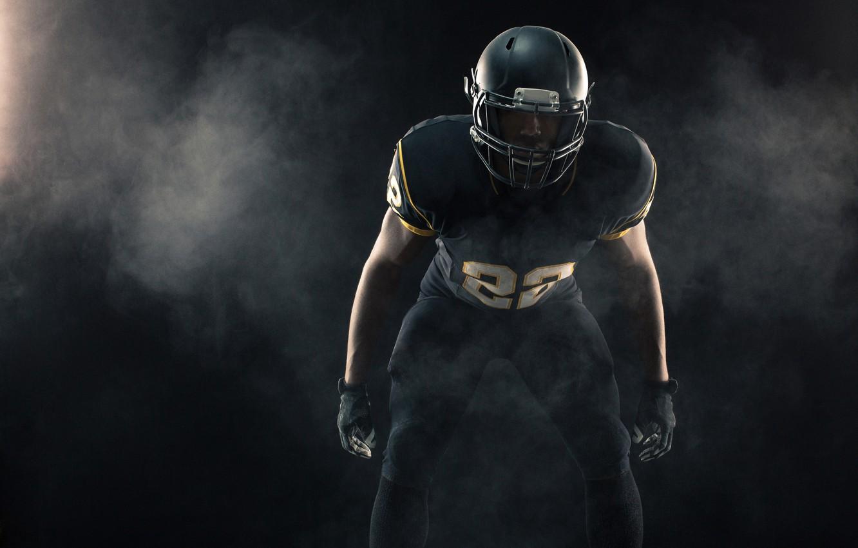 Photo wallpaper photo, Sport, Helmet, Male, Uniform, American football