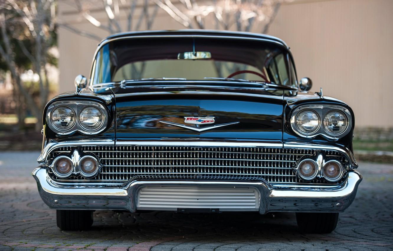 Photo wallpaper Chevrolet, Bel Air, Vintage, Impala, Retro, Vehicle