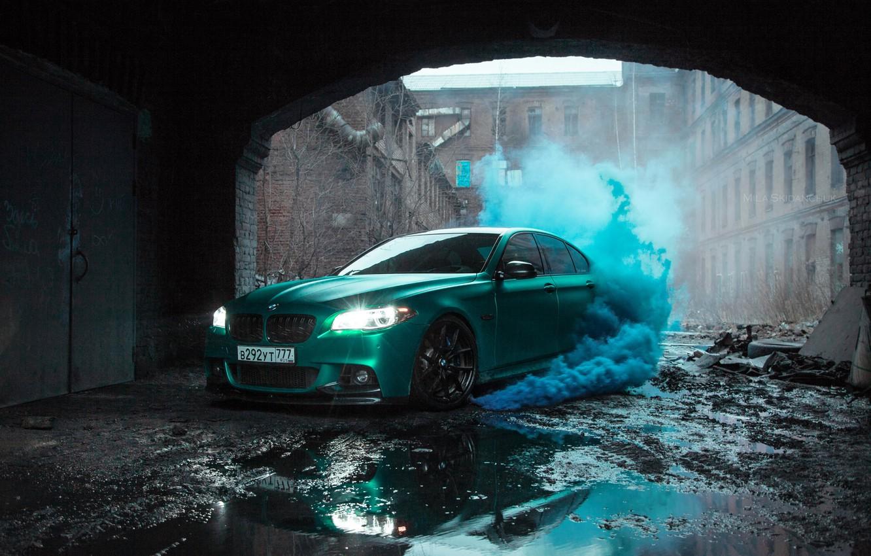 Photo wallpaper BMW, F10, 550, Zero Project I