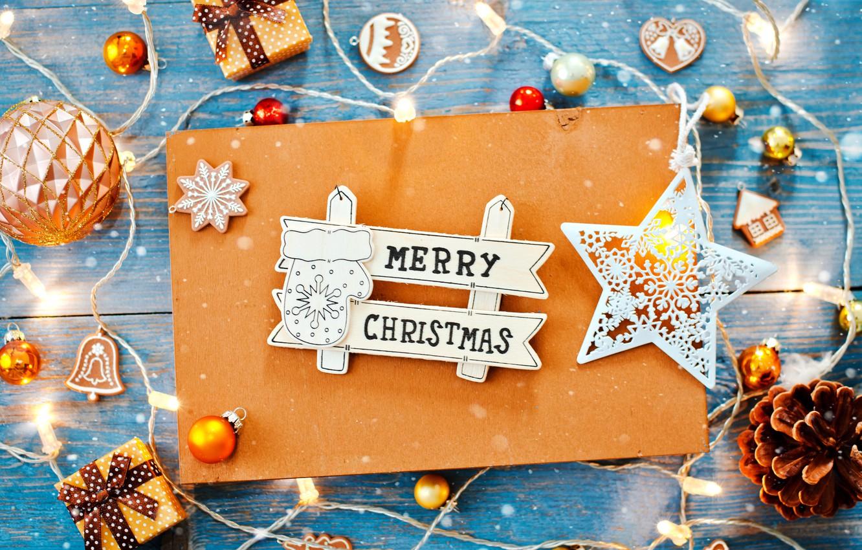 Photo wallpaper decoration, toys, star, Christmas, gifts, garland, decor, Shangarey Julia