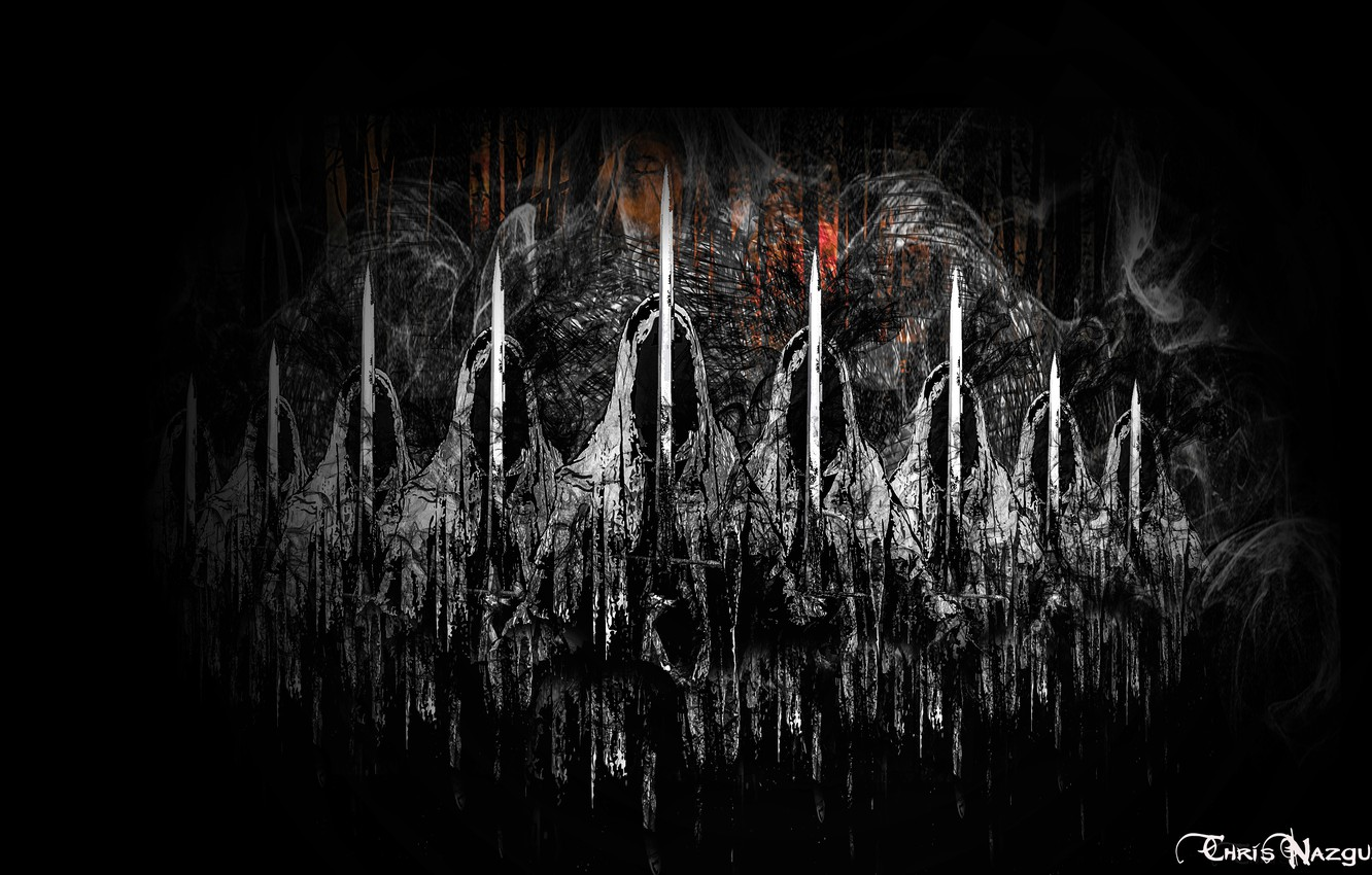 Wallpaper The Lord Of The Rings Ghosts The Nazgul Black Riders