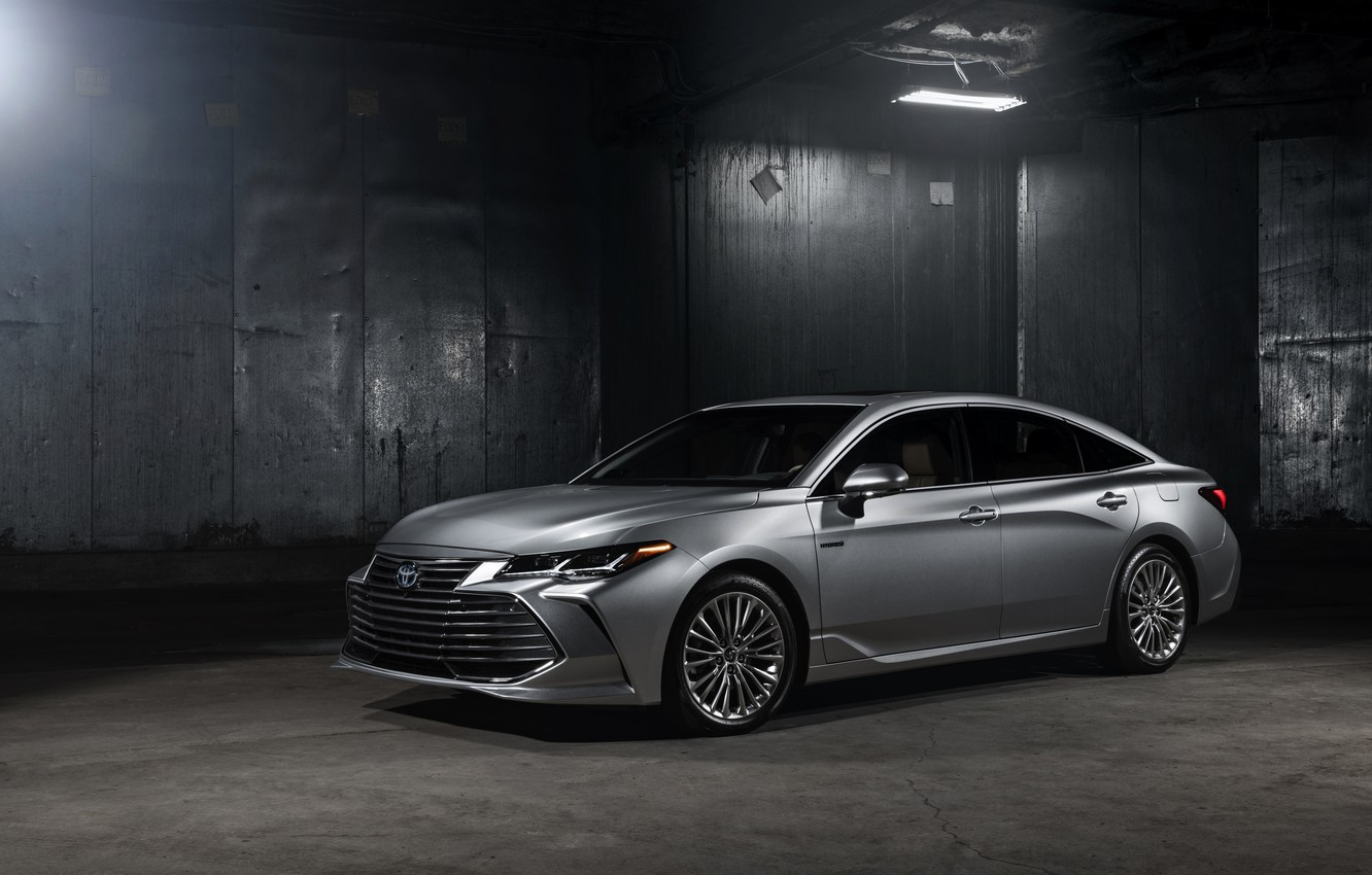 Photo wallpaper lamp, Toyota, 2018, Avalon, Limited Hybrid