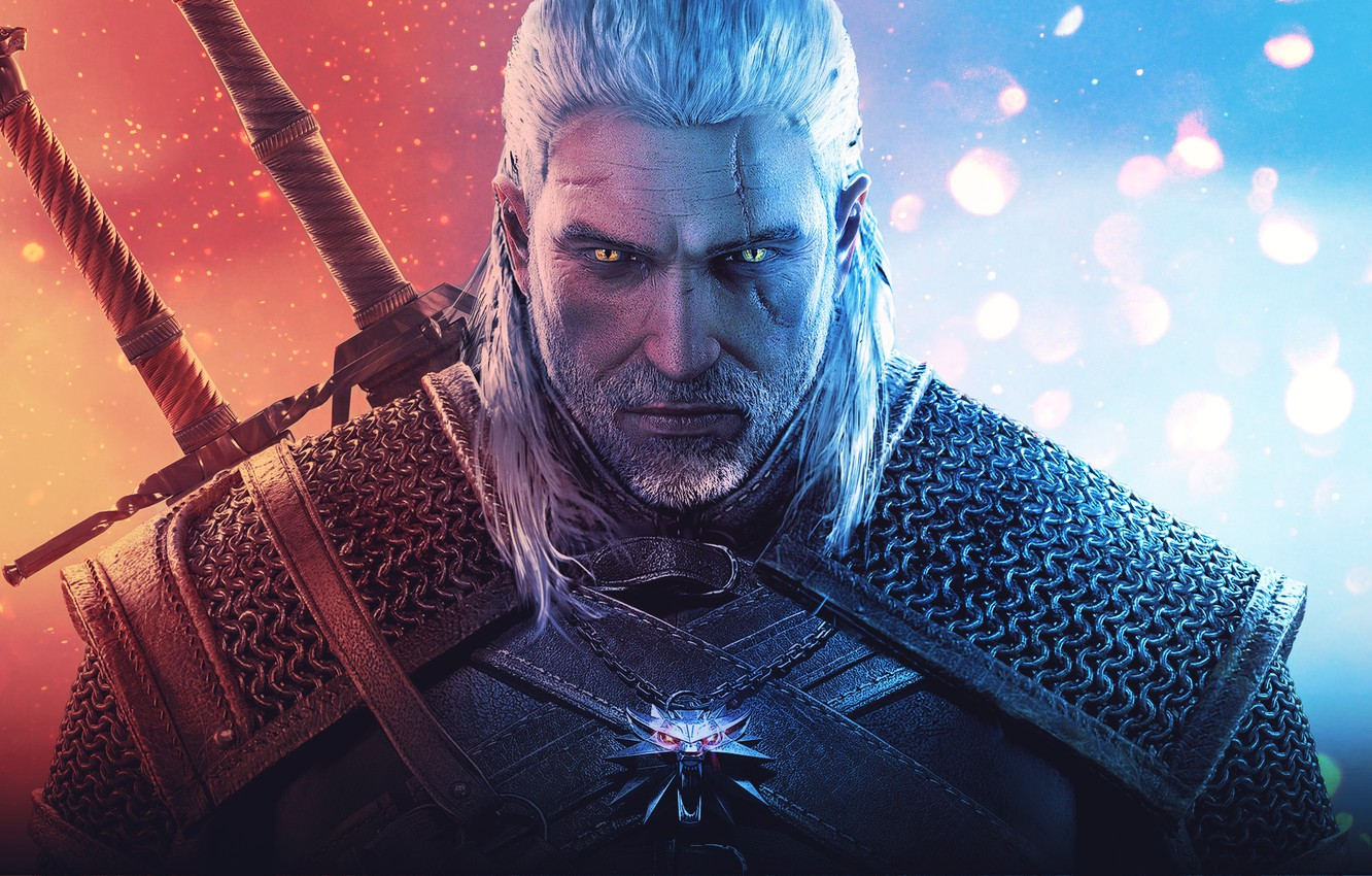 Photo wallpaper Geralt of Rivia, The Witcher 3: Wild Hunt, The Witcher 3: wild hunt, Geralt of …