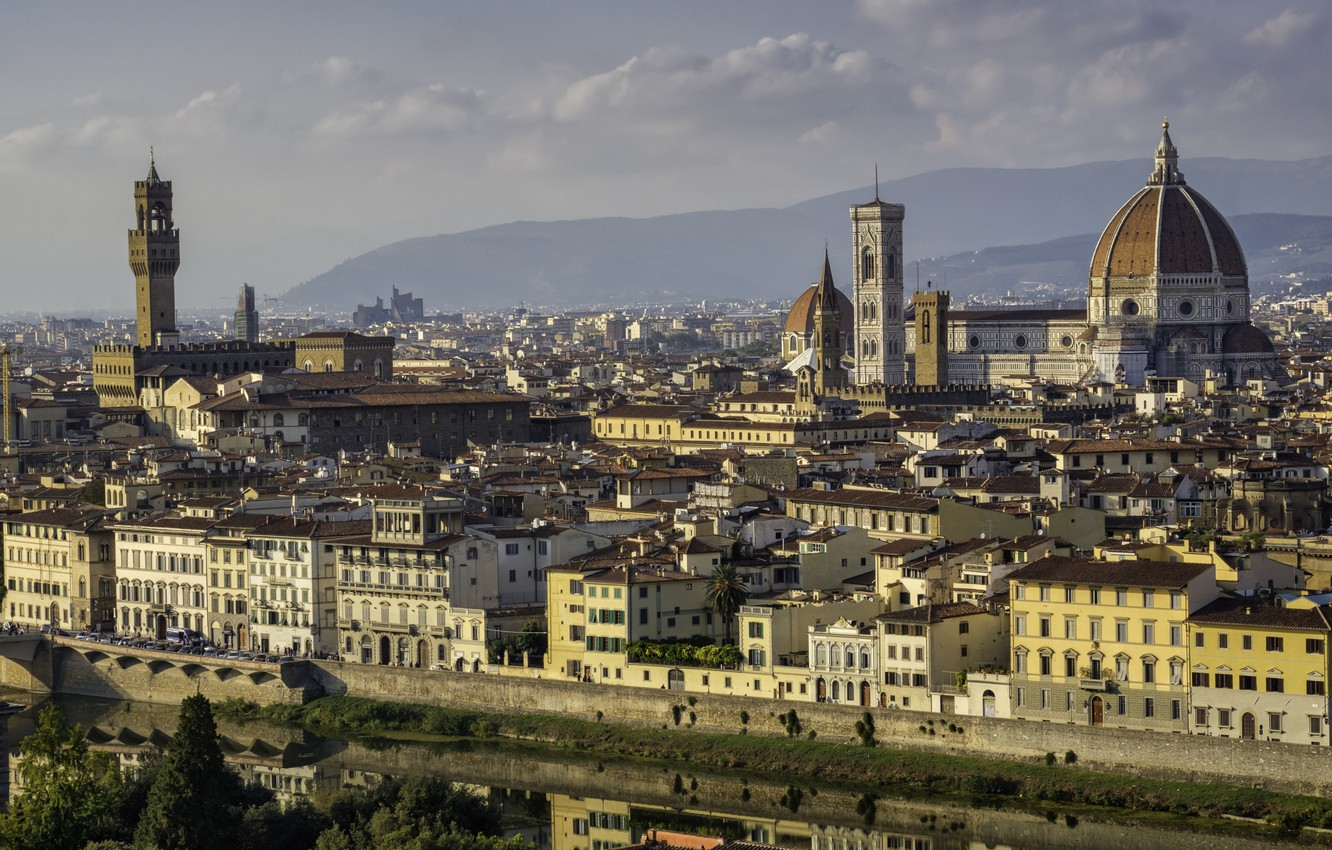 Photo wallpaper Italy, Florence, Florence