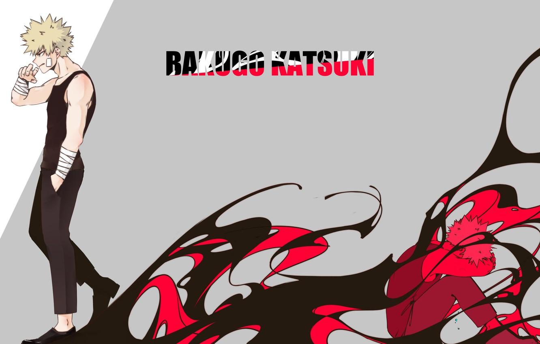 Photo wallpaper background, guy, Boku No Hero Academy, My Hero Academy, Bakuga Katsuki