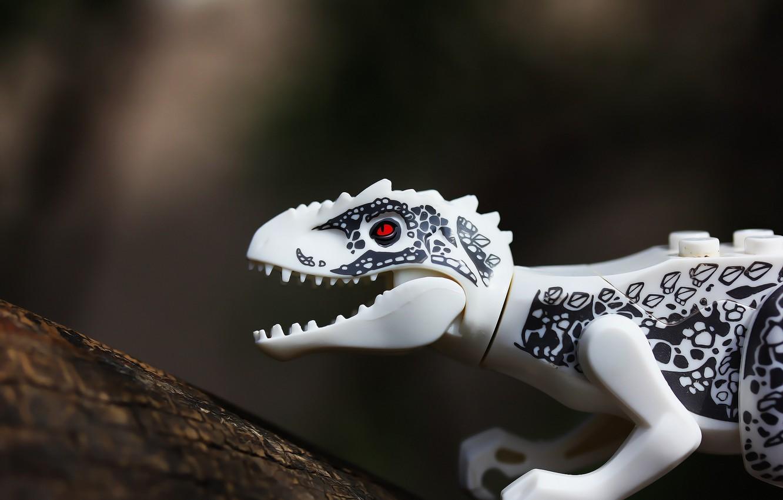 Photo wallpaper background, toy, dinosaur