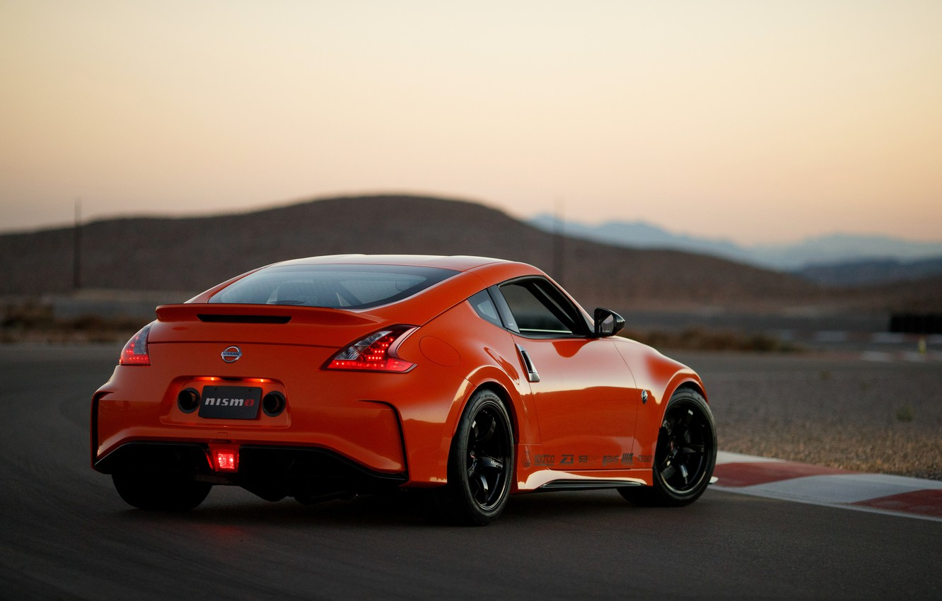 Photo wallpaper coupe, back, Nissan, 2018, 370Z, Nismo, Project Clubsport 23