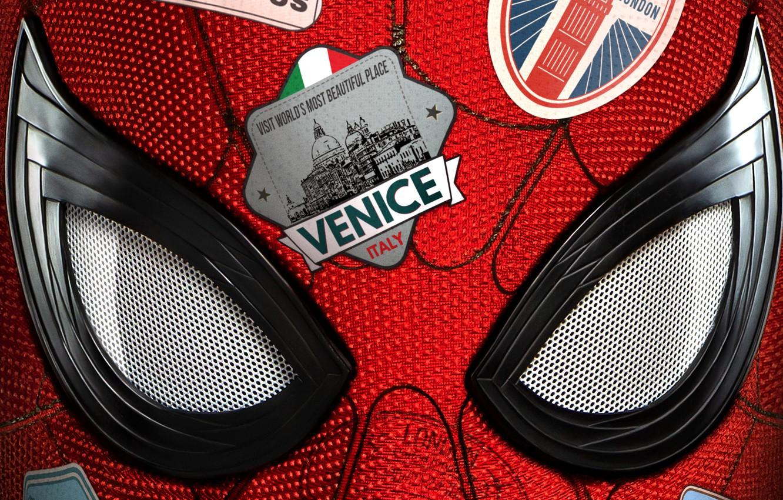 Photo wallpaper Marvel, Spider Man, Trip, Tom Holland, Peter Parler, Spider Man:Far from home