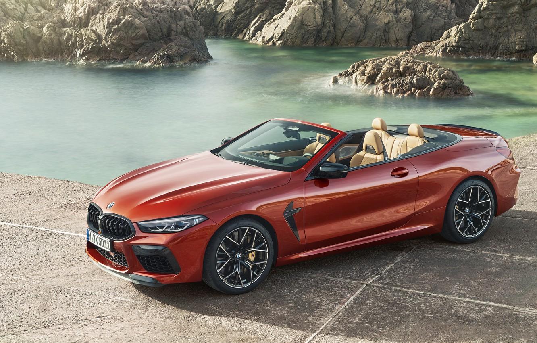 Photo wallpaper BMW, supercar, Cabrio, Competition, 2019, BMW M8, F91