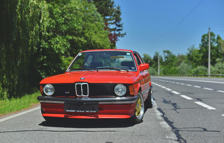 Photo wallpaper BMW, COUPE, E21, 3-Series