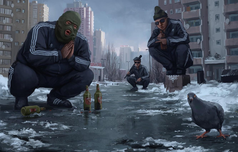 Gopnik (squatting slavs) Stefan-koidl-by-stefan-koidl-gopniktown