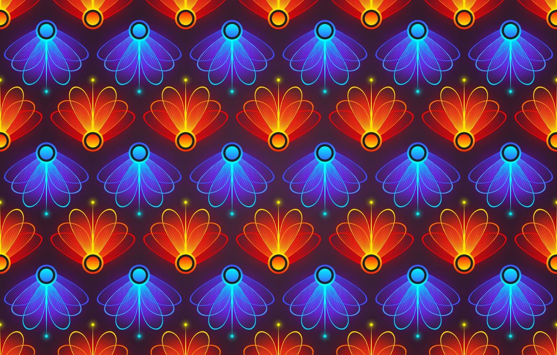 Photo wallpaper abstraction, background, graphics, texture, petals, background, digital art