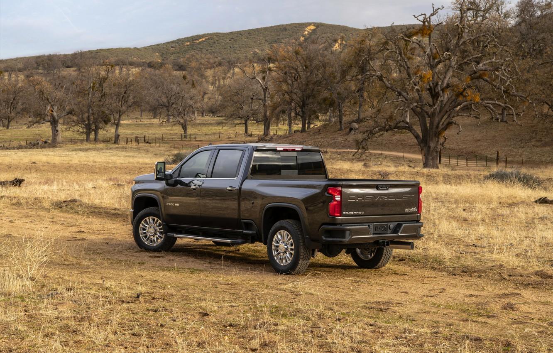 Photo wallpaper plain, Chevrolet, pickup, Silverado, High Country, 2020, 2500 Heavy Duty