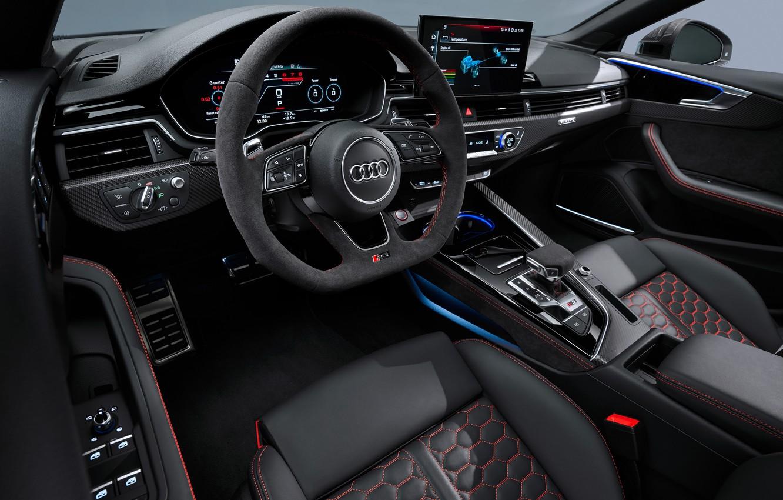 Photo wallpaper Audi, salon, RS5, Sportback, RS 5, 2020