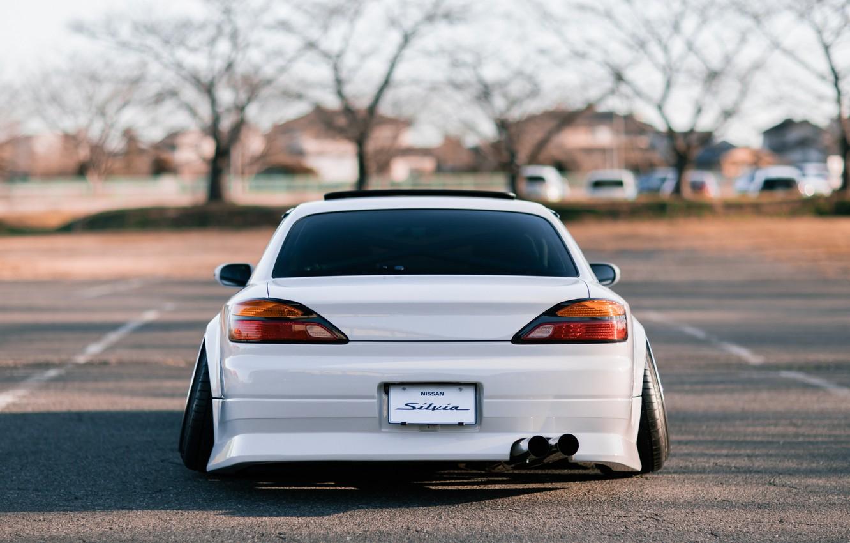 Photo wallpaper S15, Silvia, Nissan, Wide Body