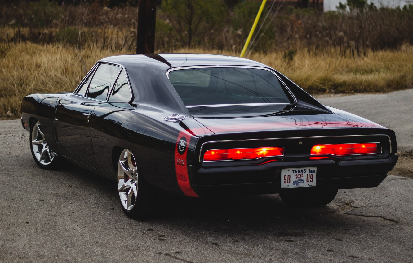 Photo wallpaper 1969, Dodge, Charger, Custom, 1969 Dodge Charger