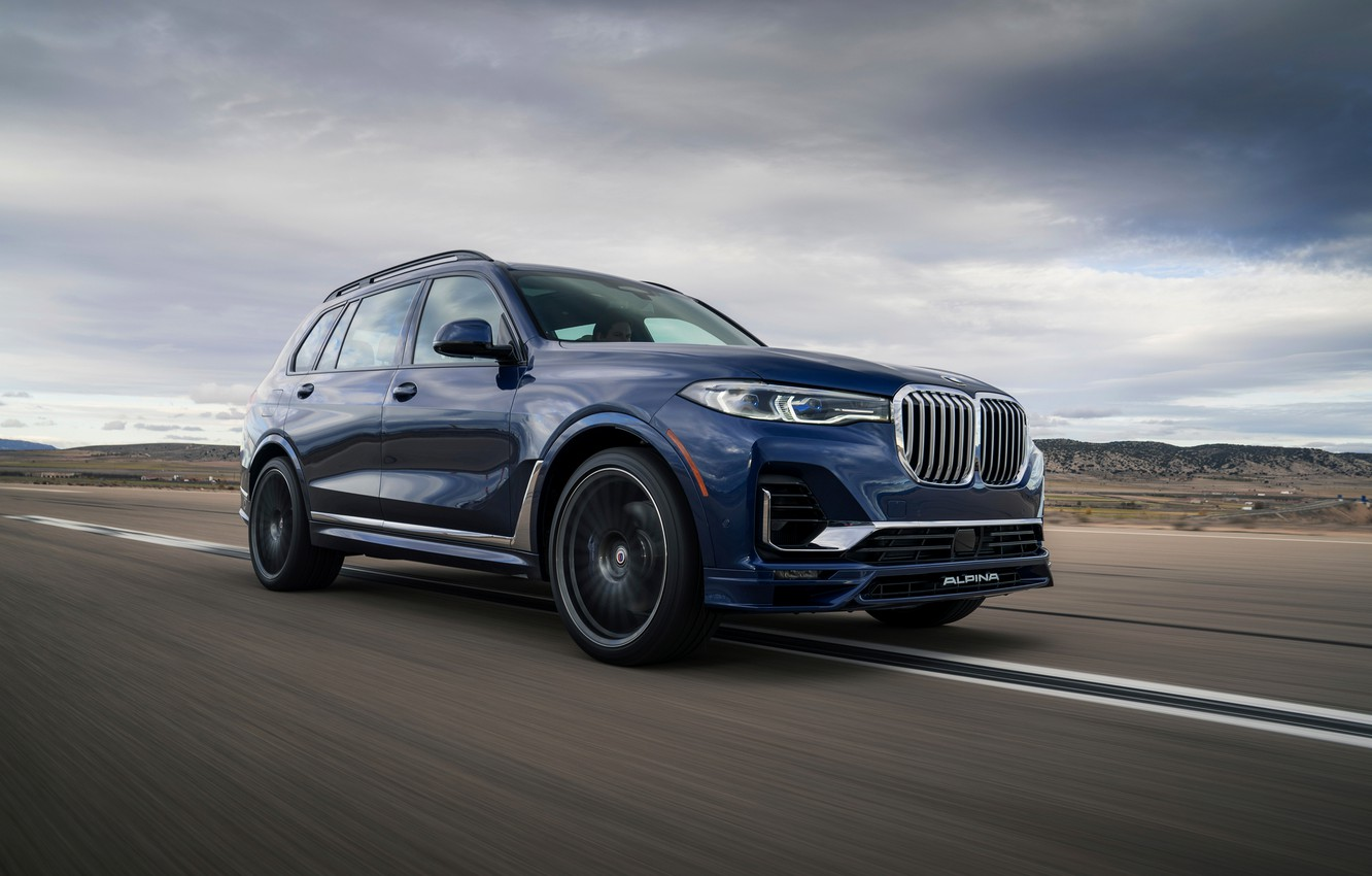 Wallpaper Blue Bmw Crossover Suv Alpina 2020 Bmw X7 X7 G07 Xb7 Images For Desktop Section Bmw Download