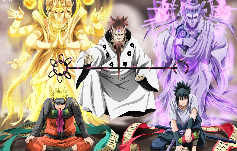 Wallpaper Naruto Sasuke Uchiha Naruto Uzumaki Images For Desktop Section Syonen Download