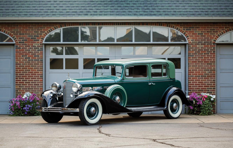 Photo wallpaper auto, retro, Cadillac, V12, 370-C