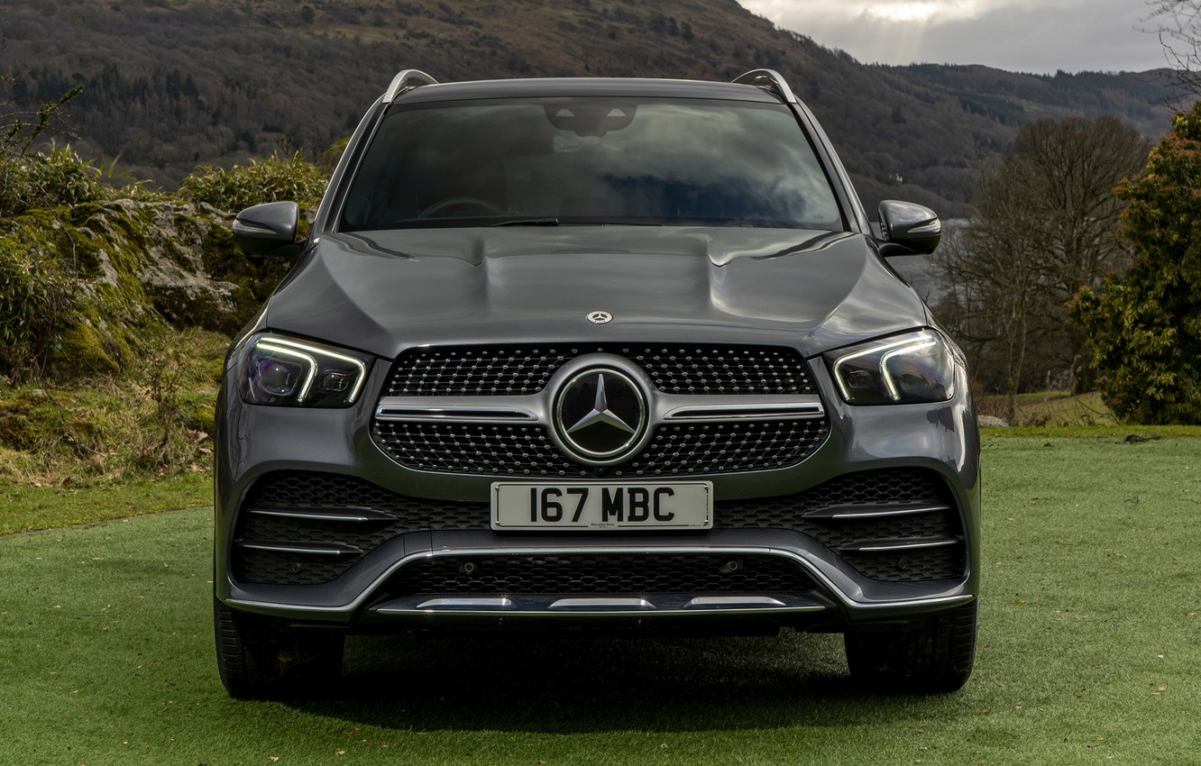 Photo wallpaper grass, mountains, nature, Mercedes-Benz, space, SUV, AMG, Hybrid, Line, GLE-Class, Plug-In, Mercedes-Benz GLE-Class Plug-In Hybrid …