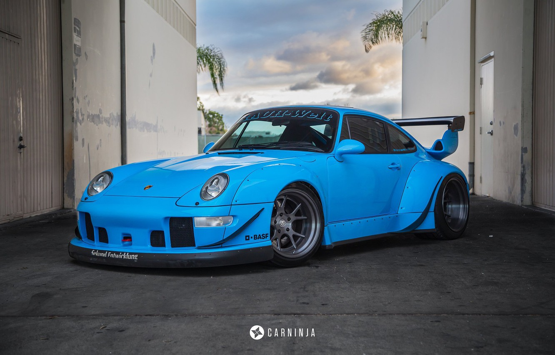Photo wallpaper Porsche, 993, RWB