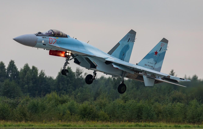 Wallpaper Su-35S, multipurpose, The Russian air force, Su-35S ...