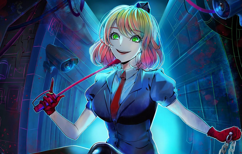 Wallpaper Girl Angel Bloodshed Satsuriku No Tenshi Angels Of